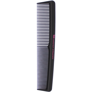 Professional cutting comb in pure carbon antibacterial with wide and thick teeth