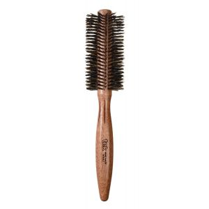 "Roll mahogany wood brush with reinforced wild boar bristles, diam. 2,17"" (55mm)"