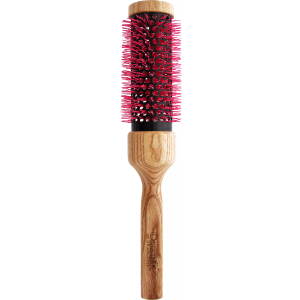 Professional brush CERAMIK ANTIBACTERIC OXY with square wooden handle diam. 1,42'' (36mm)