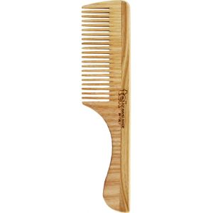 Comb with handle and thick teeth