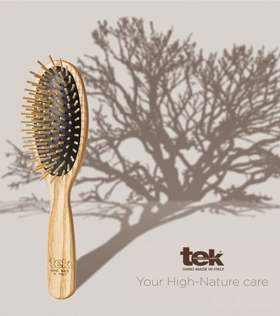 Wooden Brushes and Combs handmade in Italy | Tek