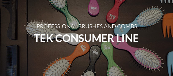 professional brushes and combs
