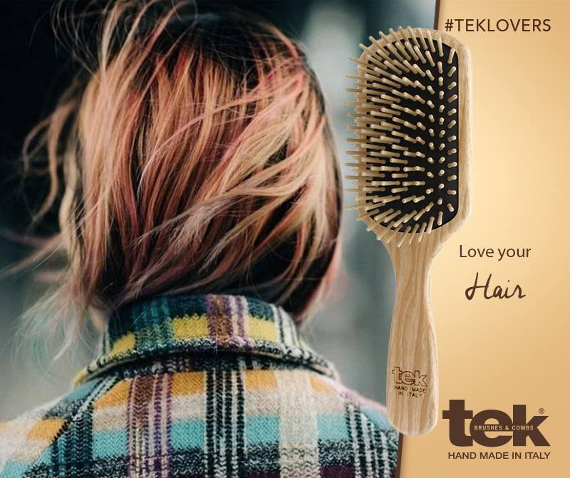 Wooden Brushes And Combs Handmade In Italy Tek